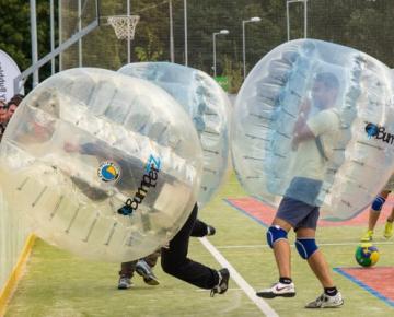 Crazy Bubbles Show Brno