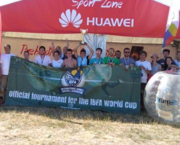 Huawei Mistrovství SR Bubble Football 2015